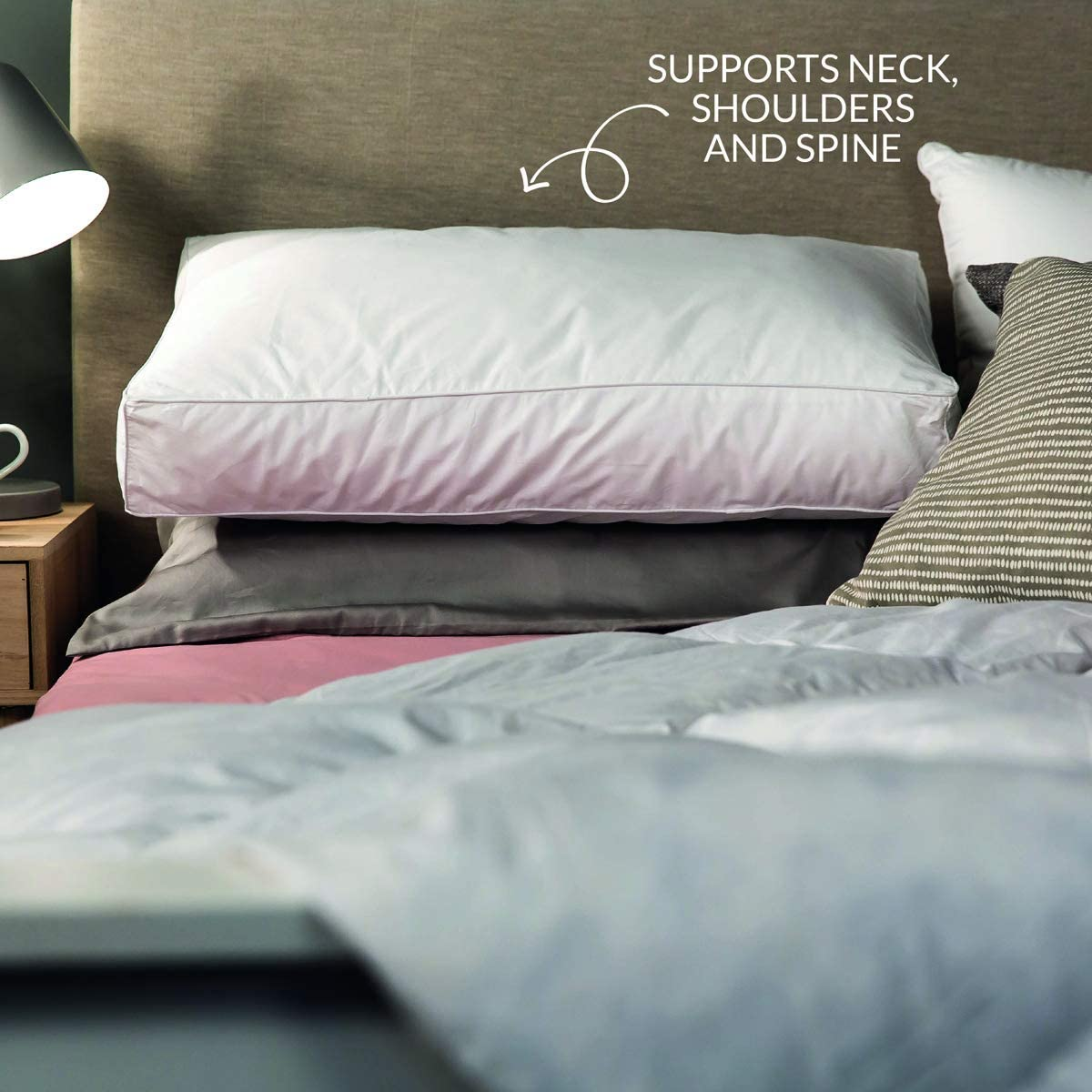 snuggledownside sleeper firm pillow