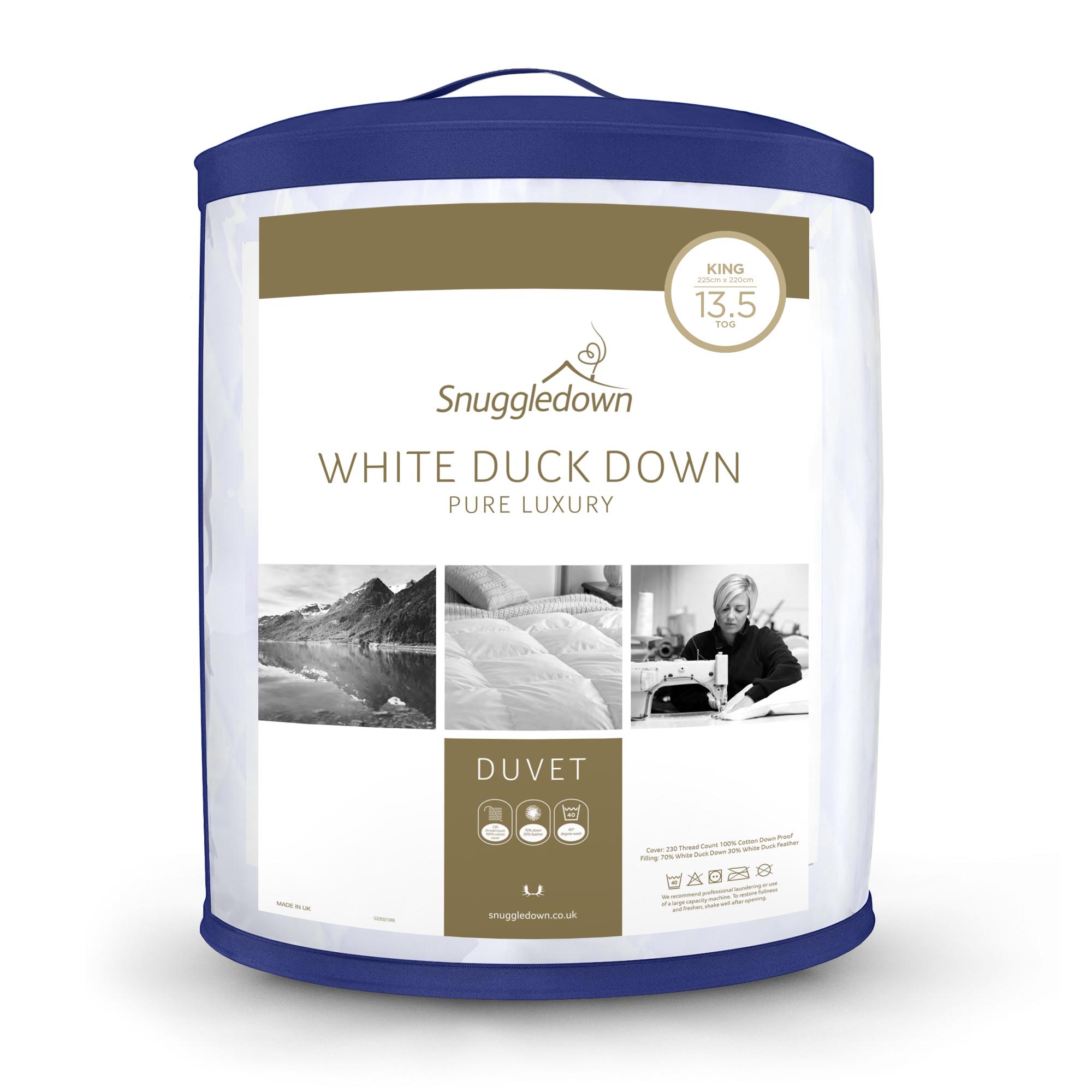 Snuggledown White Duck Down Pure Luxury Duvet