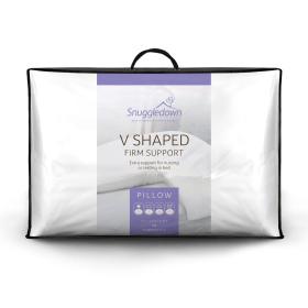 Snuggledown V Shape Firm Support Pillow