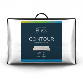 Snuggledown Bliss Memory Foam Contour Firm Support Pillow