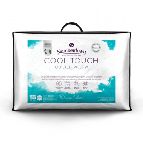 Slumberdown Luxury Cool Touch Quilted Medium/Firm Support Pillow