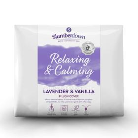 Slumberdown Relaxing & Calming Lavender & Vanilla Pillow Protector