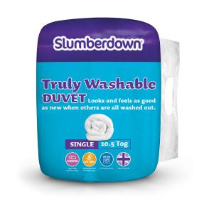 Slumberdown Truly Washable Duvet - 10.5 Tog - Single