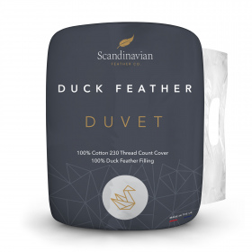 Scandinavian Feather Co. Duck Feather Duvet - 10.5 Tog - Single