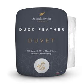 Scandinavian Feather Co. Duck Feather Duvet - 10.5 Tog - Double