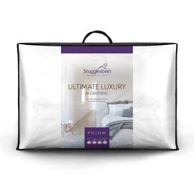 Snuggledown Ultimate Luxury Medium Support Back Sleeper Pillow, 1 Pack