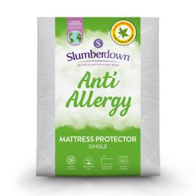 Slumberdown Anti Allergy Mattress Protector - Single