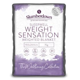 Slumberdown Weight Sensation Weighted 7 Kg Double Blanket 150cm x 200cm