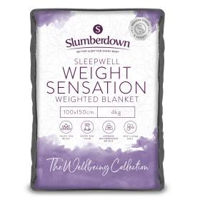 Slumberdown Weight Sensation Weighted 4Kg Single Blanket 100cm x 150cm