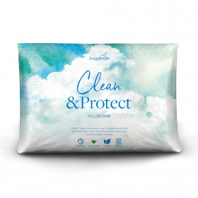 Snuggledown Clean & Protect Pillow - Pack of 2