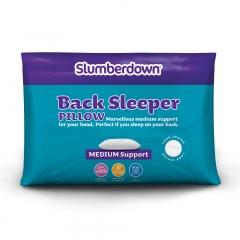 Slumberdown Back Sleeper Pillow