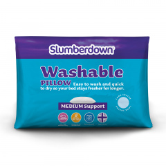 Slumberdown Truly Washable Pillow