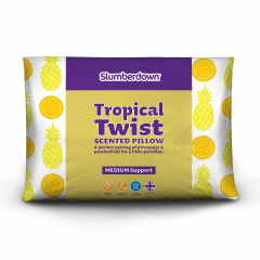 Slumberdown Tropical Twist Scented Pillow