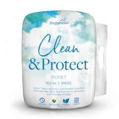 Snuggledown Clean & Protect Teflon Duvet - 10.5 Tog - Single