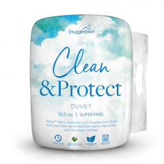 Snuggledown Clean & Protect Teflon Duvet - 10.5 Tog - Super King
