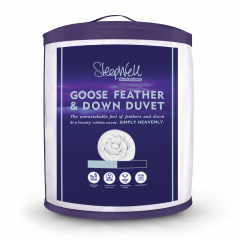Slumberdown Sleepwell Luxury Goose Feather & Down Duvet