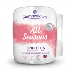 Slumberdown All Seasons Combi Duvet - 13.5 Tog - Single