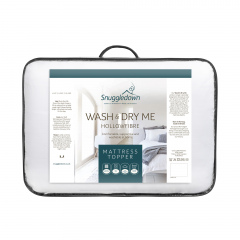 Snuggledown Wash & Dry Me Hollowfibre Mattress Topper