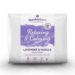 Slumberdown Relaxing Lavender & Vanilla Pillow Protector