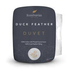 Scandinavian Feather Co. Duck Feather Duvet - 10.5 Tog - Super King