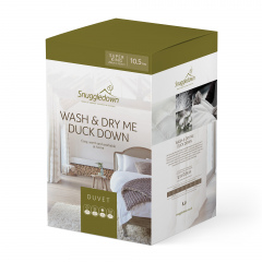 Snuggledown Wash & Dry Me Duck Down Duvet - 10.5 Tog - Super King