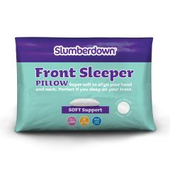 Slumberdown Front Sleeper Soft Support Pillow, 1 Pack