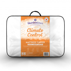 Slumberdown Climate Control Firm Support Mattress Topper - Single