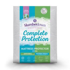 Slumberdown Complete Protection Anti-Viral Mattress Protector - King