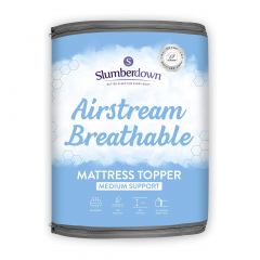 Slumberdown Airstream Mattress Topper - Single