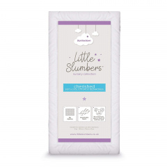 Slumberdown Little Slumbers Cherished Soft & Cool Cotton Cot Bed Mattress