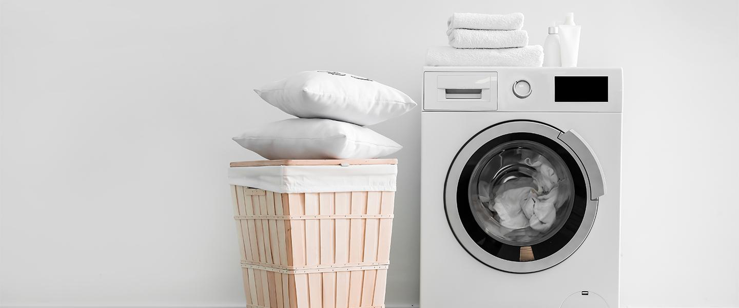 A step-by-step guide to washing your pillows