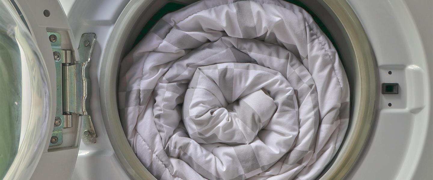 A step by step guide to washing a duvet